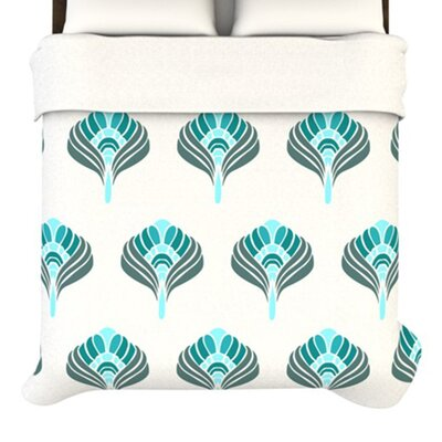 KESS InHouse Peacock Duvet Cover