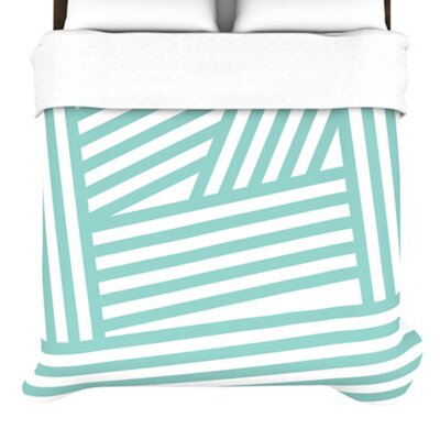 KESS InHouse Stripes Duvet Cover