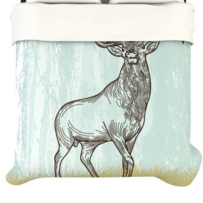 KESS InHouse Elk Scene Duvet Cover Collection