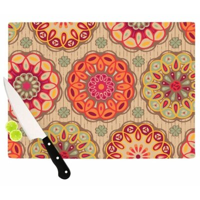KESS InHouse Festival Folklore Cutting Board