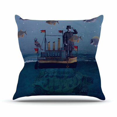 KESS InHouse The Voyage Throw Pillow