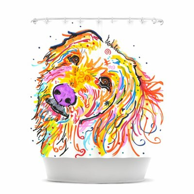 KESS InHouse Koda Polyester Shower Curtain