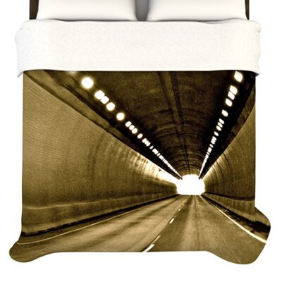 KESS InHouse Tunnel Duvet Cover