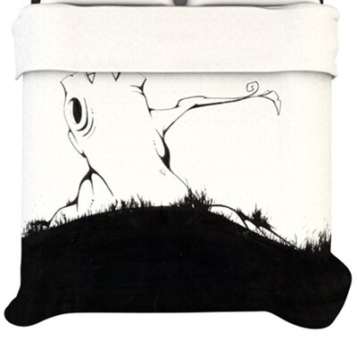 KESS InHouse It's Alright Duvet Cover