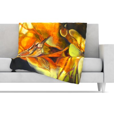Reflecting Light Fleece Throw Blanket