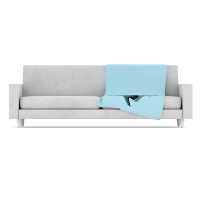 KESS InHouse Shark Record II Microfiber Fleece Throw Blanket