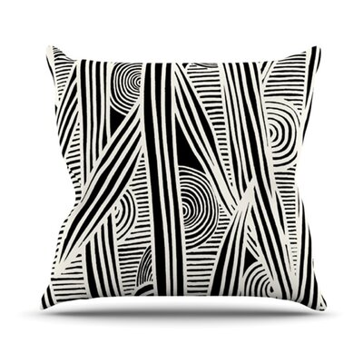 KESS InHouse Graphique Throw Pillow