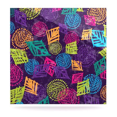 KESS InHouse African Beat by Emine Ortega Graphic Art Plaque
