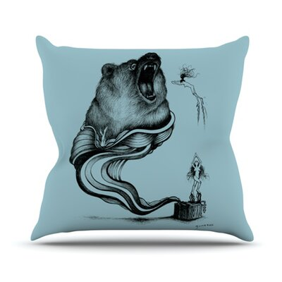 KESS InHouse Hot Tub Hunter II Throw Pillow