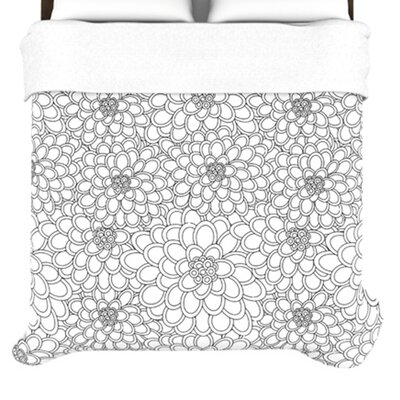 KESS InHouse Flowers Duvet Collection