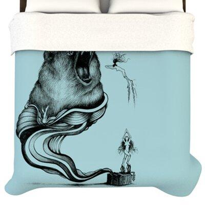 KESS InHouse Hot Tub Hunter II Duvet Collection