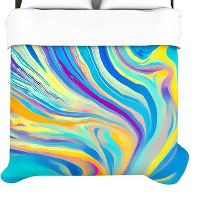 KESS InHouse Rainbow Swirl Duvet