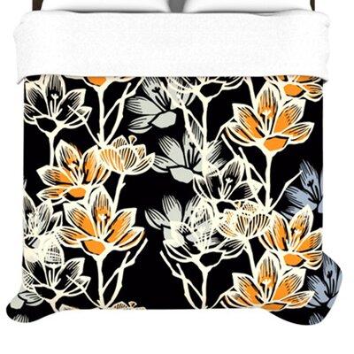 "KESS InHouse ""Crocus"" Woven Comforter Duvet Cover"