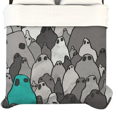 KESS InHouse Ghosts Duvet