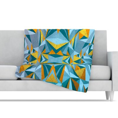 KESS InHouse Abstraction Fleece Throw Blanket