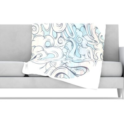 KESS InHouse Entangled Souls Fleece Throw Blanket