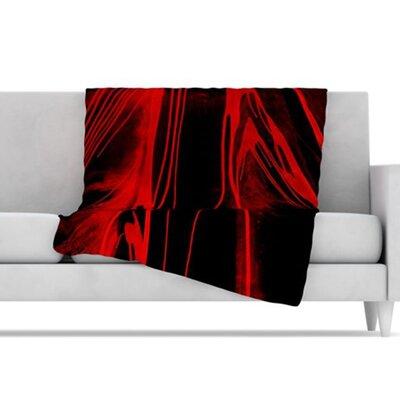 KESS InHouse In the Detail Fleece Throw Blanket