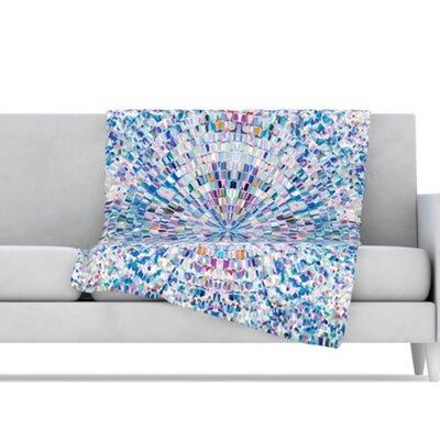 KESS InHouse Looking Microfiber Fleece Throw Blanket