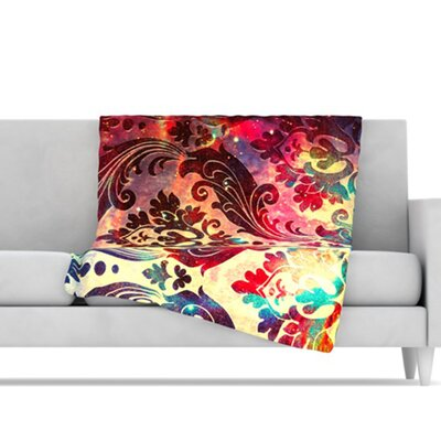 KESS InHouse Galaxy Tapestry Microfiber Fleece Throw Blanket
