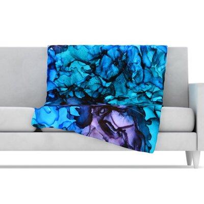 KESS InHouse Lucid Dream Microfiber Fleece Throw Blanket