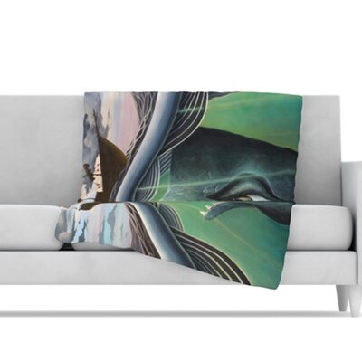 KESS InHouse Jonah Microfiber Fleece Throw Blanket