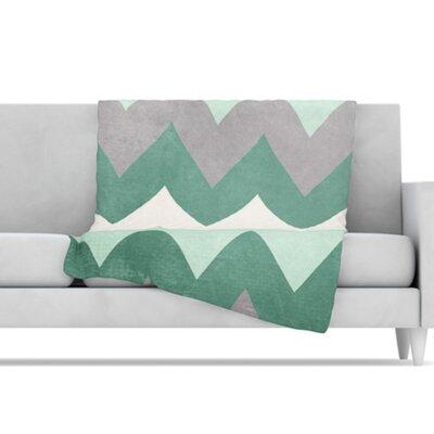 KESS InHouse Winter Microfiber Fleece Throw Blanket