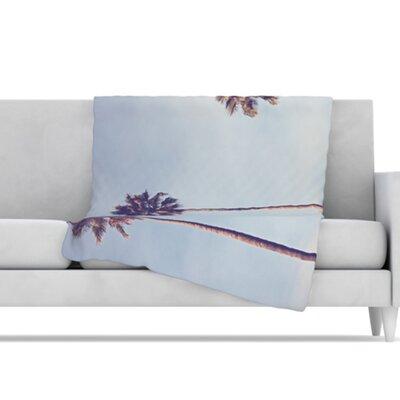 KESS InHouse Sunshine and Warmth Microfiber Fleece Throw Blanket