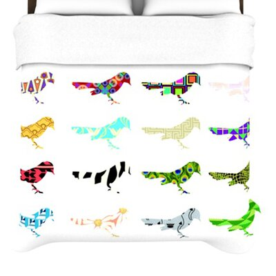 KESS InHouse Birds Duvet Collection