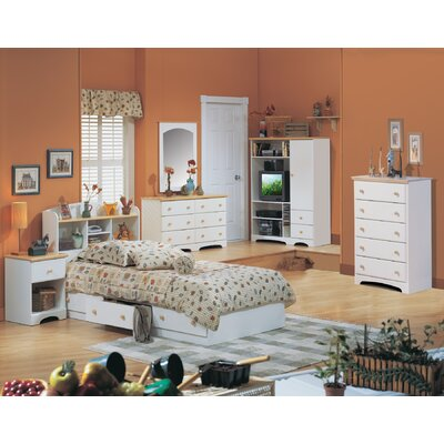 South Shore Newbury Twin Mates Bookcase Bed