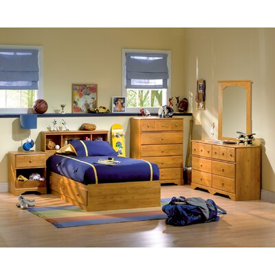 South Shore Amesbury Twin Captain Bedroom Collection