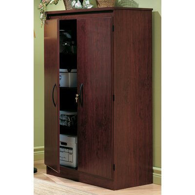 South Shore Traditional Jefferson Cherry Two Door Floor Cabinet