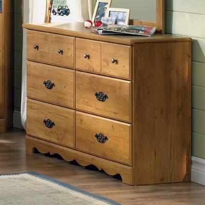 South Shore Roslindale 6 Drawer Double Dresser