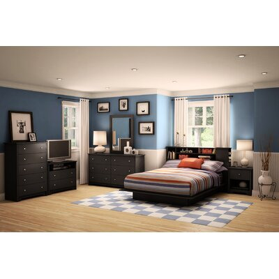South Shore Vito Queen Platform Bedroom Collection