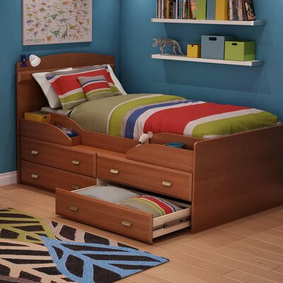 South Shore Imagine Twin Captains Bed