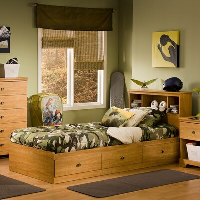 South Shore Billy Twin Mates Bed