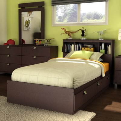 South Shore Cakao Panel Bed