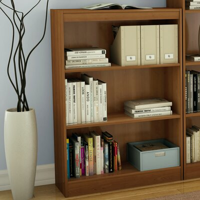 Axess Three Shelf Bookcase in Morgan Cherry