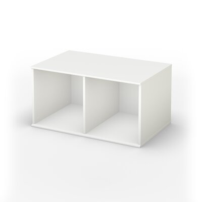 South Shore Stor It Open Storage Base in Pure White