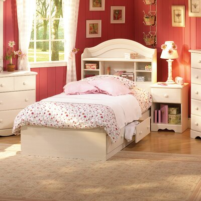 South Shore Summer Breeze White Wash Captain Bedroom Collection