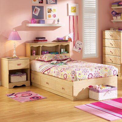 South Shore Lily Rose Mates Twin Captain Bedroom Collection