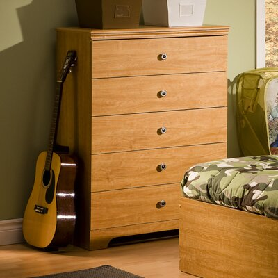 South Shore Zach 5 Drawer Chest