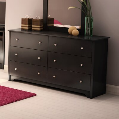 Vito 6 Drawer Double Dresser