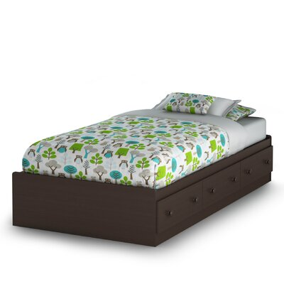 South Shore Summer Breeze Chocolate Mates Bed Box