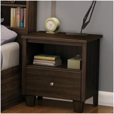 South Shore Clever Room 1 Drawer Nightstand
