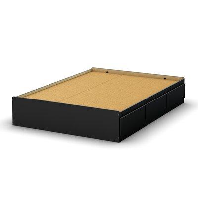 south shore full size storage platform bed ii reviews wayfair. Black Bedroom Furniture Sets. Home Design Ideas