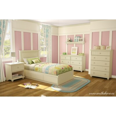 South Shore Hopedale Twin Bedroom Collection