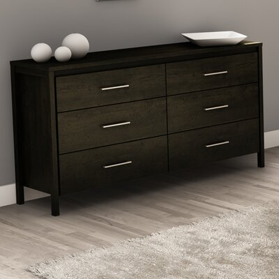 South Shore Gravity 6 Drawer Double Dresser