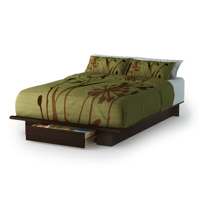 South Shore Holland Full/Queen Size Storage Platform Bed