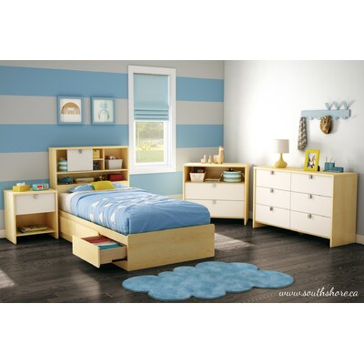 South Shore Cookie Twin Storage Bedroom Collection