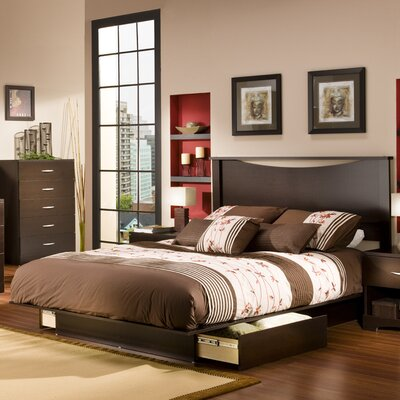 South Shore Infinity Platform Bedroom Collection